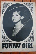 Original Prog Barbra Streisand Funny Girl