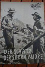 Original Prog Humphrey Bogart Treasure Of Sierra Madre
