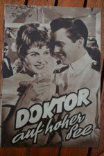 Movie Prog Brigitte Bardot Dirk Bogarde Doctor At Sea