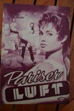 Original Prog Brigitte Bardot La Parisienne