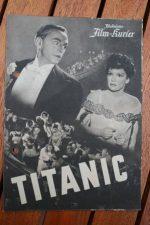 Original Prog Titanic Sybille Schmitz Charlotte Thiele