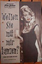 Original Prog Brigitte Bardot Henri Vidal