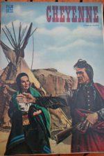 Original Prog Richard Widmark Carroll Baker Cheyenne
