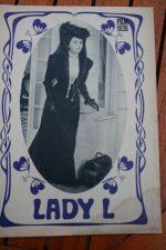 Original Prog Sophia Loren Paul Newman Lady L