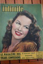1948 Vintage Magazine Susan Hayward