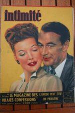 1948 Vintage Magazine Ann Sheridan Gary Cooper
