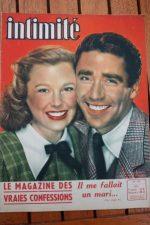 1948 Vintage Magazine June Allyson Peter Lawford