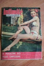1947 Vintage Magazine Marilyn Monroe Rare Issue