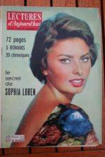1958 Mag Sophia Loren Lucile Saint Simon June Allyson