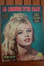 Original Mag 1959 Brigitte Bardot Female and the Flesh