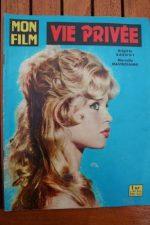 Original Mag 1962 Brigitte Bardot Very Private Affair