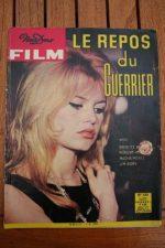 Original Mag 1963 Brigitte Bardot Love on a Pillow