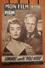 1958 Dawn Addams Curd Jurgens Jean Seberg