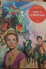 1963 Magazine Teseo contro il minotauro Rosanna Schiaffino Bob Mathias