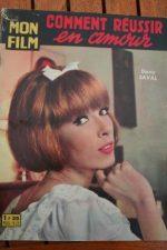 1963 Eddy Mitchell Dany Saval Kirk Douglas Jean Simmons