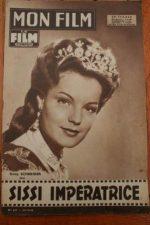 1958 Photo Novel Romy Schneider Karl Heinz Bohm Sissi