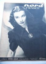 Rare Vintage Magazine 1947 Vivien Leigh