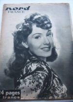 Rare Vintage Magazine 1947 Renee Houston