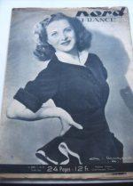 Rare Vintage Magazine 1948 Line Renaud