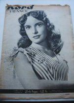 Rare Vintage Magazine 1948 Janet Leigh