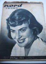 Rare Vintage Magazine 1948 Ingrid Bergman