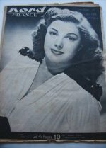Rare Vintage Magazine 1948 Esther Williams