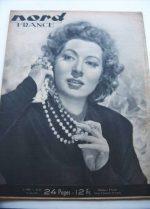 Rare Vintage Magazine 1948 Greer Garson