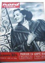 Rare Vintage Magazine 1950 Viveca Lindfors