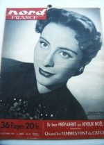 Rare Vintage Magazine 1950 Genevieve Page