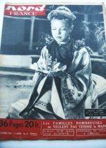 Rare Vintage Magazine 1950 Cecile Aubry