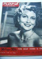 Rare Vintage Magazine 1950 Claude Farrell