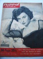 Rare Vintage Magazine 1951 Susan Hayward