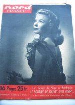 Rare Vintage Magazine 1951 Vera Ellen