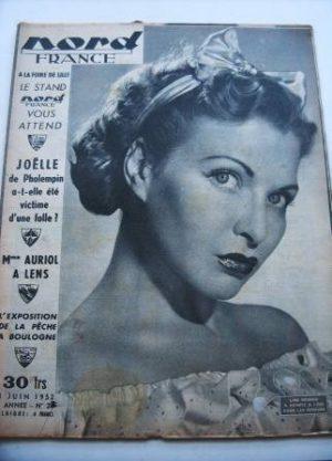 Rare Vintage Magazine 1952 Line Renaud