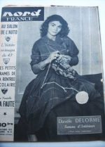 Rare Vintage Magazine 1952 Daniele Delorme