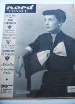 Rare Vintage Magazine 1952 Maria Mauban