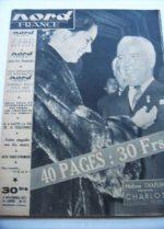 Rare Vintage Magazine 1952 Charles Chaplin