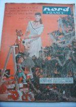 Rare Vintage Magazine 1953 Leslie Caron
