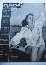 Rare Vintage Magazine 1953 Faith Domergue
