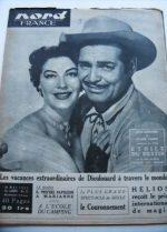 Rare Vintage Magazine 1953 Ava Gardner Clark Gable