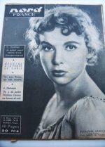 Rare Vintage Magazine 1953 Francoise Arnoul