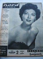 Rare Vintage Magazine 1953 Ava Gardner