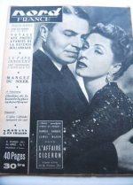 Rare Vintage Magazine 53 James Mason Danielle Darrieux