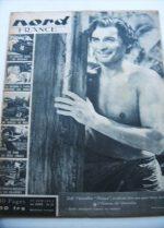 Rare Vintage Magazine 1953 Jeff Chandler