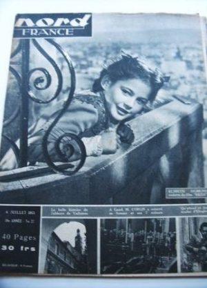 Rare Vintage Magazine 1953 Elsbeth Sigmund Heidi