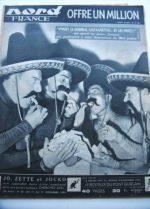 Rare Vintage Magazine 1953 Les Freres Jacques