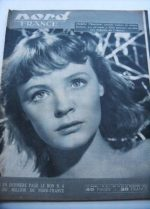 Rare Vintage Magazine 1953 Etchika Choureau