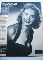 Rare Vintage Magazine 1953 Annie Cordy
