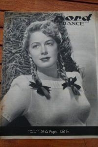 Rare Vintage Magazine 1948 Betty Hutton On Cover