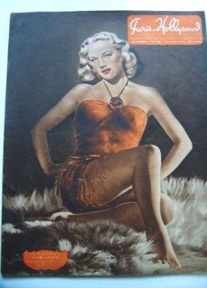 1947 Original Paris Hollywood Pin-Up Girls Lila Leeds